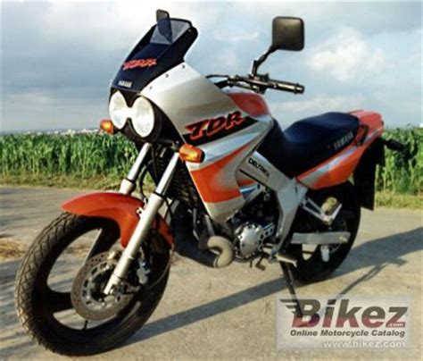 1998 Yamaha TDR 125 specifications and pictures