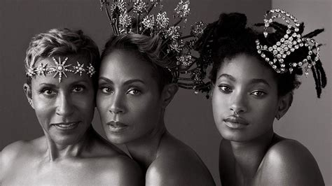 Jada Pinkett Smith's Mom Adrienne Joins Daughter and