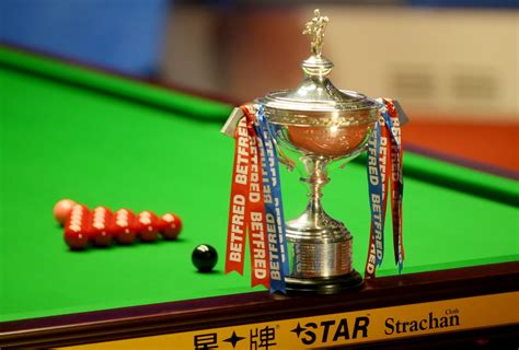 World Snooker Championship 2020 Draw: Trump to face Ford