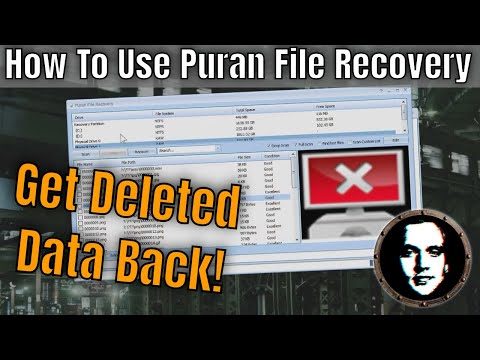 Puran File Recovery Free Download for Windows 10, 7, 8/8