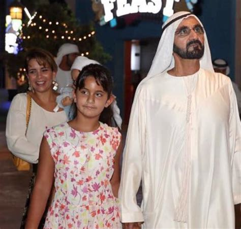 Sheikh Mohammed And Princess Haya Enjoy Day Out With Their