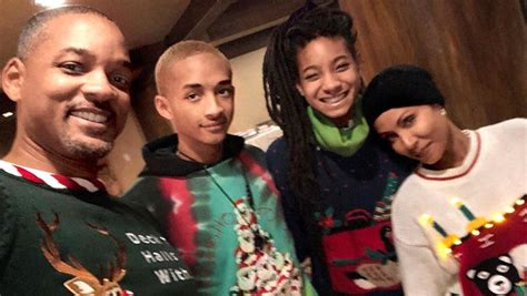 Will Smith and His Family Celebrate Christmas With a