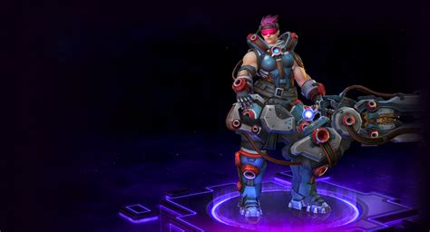 Skins of Zarya | Psionic Storm - Heroes of the Storm