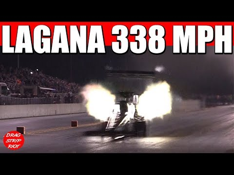 Brittany force testing top fuel - YouTube