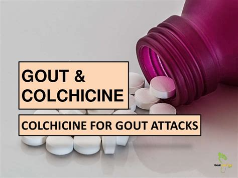 Gout and Colchicine